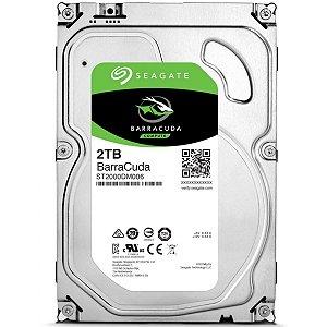 HD Interno 3.5 Seagate 2TB Desktop BarraCuda Sata 64MB - 7200RPM