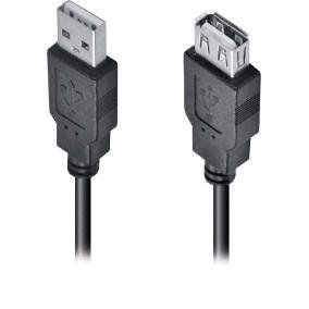Cabo  Extensor USB 2.0 Macho x Fêmea - 1,80MT Feasso