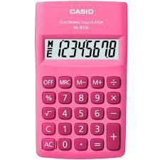 Calculadora de Bolso HL-815L-Pk Casio