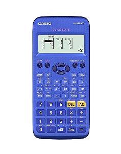 Calculadora Científica 274 Funções FX-82LAX- BU Azul