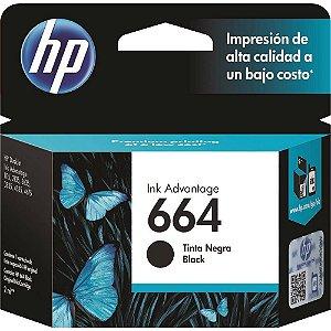Cartucho de Tinta 664 Preto HP