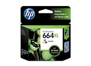 Cartucho de Tinta 664 XL Colorido HP