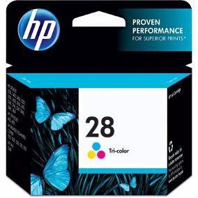 Cartucho de Tinta 28 Colorido HP