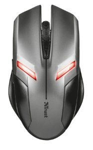 Mouse Gamer USB Trust Ziva com LED 2000DPI - 21512