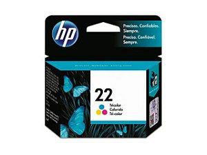 Cartucho de Tinta 22 Colorido HP