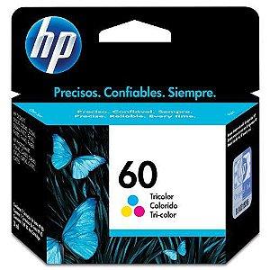 Cartucho de Tinta 60 Colorido HP