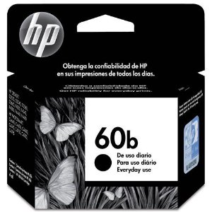 Cartucho de Tinta 60b Preto HP