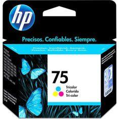 Cartucho de Tinta 75 Colorido HP