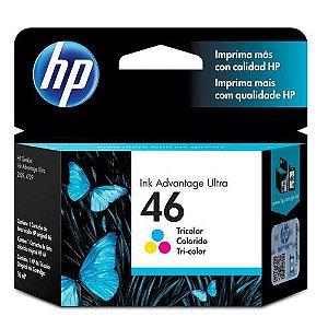 Cartucho de Tinta 46 Colorido HP