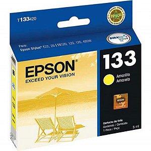 Cartucho de Tinta 133 Amarelo Epson