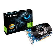 Placa de Video NVIDIA GeForce GT 730 2 GB DDR3 128 Bits Gigabyte GV-N730-2GI