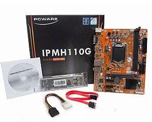 Placa-Mãe PcWare LGA1151 DDR4 IPMH110G