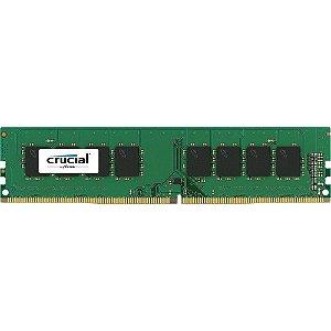 Memória Crucial 8GB DDR4 2400Mhz CL17 - CT8G4DFS824A