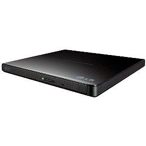 Gravador Externo de CD/DVD e Leitor de CD/DVD Drive LG - GP65NB60