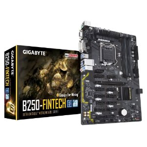 Placa-Mãe Gigabyte p/ Intel LGA 1151 ATX DDR4 - GA-B250-FinTech