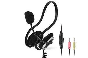 Headset Stereo A4Tech com Microfone - HS-5P