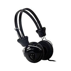 Headphone C3 Tech Tricerix com Microfone Preto - MI-2280ERC