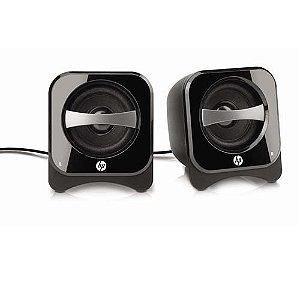 Caixa de Som Speaker HP 2.0 Compact 2W - BR387AA#ABL