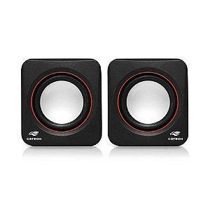 Caixa de Som C3 Tech Speaker 2.0 3W - SP-301BK