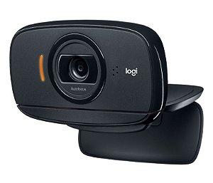 WebCam HD 720p Rotação 360º Logitech - C525