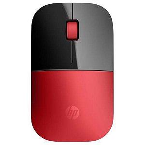 Mouse Sem Fio Vermelho HP - Z3700