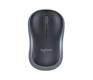 Mouse Sem Fio Cinza Logitech - M185