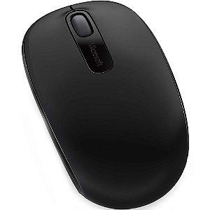 Mouse Sem Fio Óptico Microsoft 1850 Preto - U7Z-00028