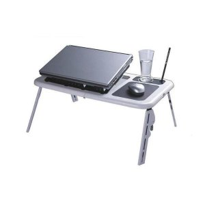 Mesa para Notebook com Cooler Dobrável Tomate - MTN888
