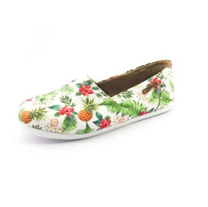 Alpargata Quality Shoes Feminina 001 Abacaxi Branco