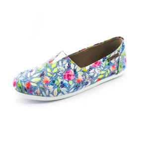 Alpargata Quality Shoes Feminina 001 Floral 214
