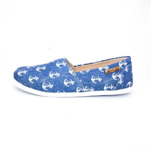 Alpargata Quality Shoes Feminina 001 Jeans Âncora