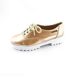 Tênis Tratorado Quality Shoes Feminino 005 Verniz Metalizado
