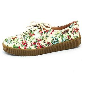 Tênis Creeper Quality Shoes Feminino 005 Floral 202