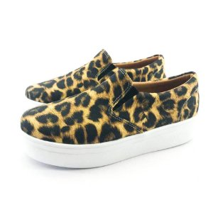 Tênis Flatform Quality Shoes Feminino 009 Animal Print