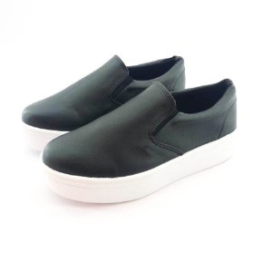 Tênis Flatform Quality Shoes Feminino 009 Courino Preto