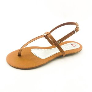 Rasteira Quality Shoes 010 Caramelo