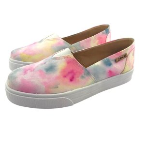 Tênis Slip On Quality Shoes 002 Feminino Tie Dye 03