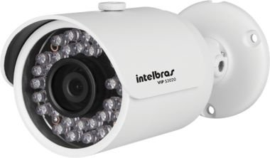 CAMERA IP IR BULLET 1.0M HD 720P 3,6MM VIP S3020 - INTELBRAS