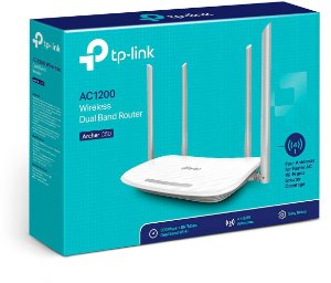 ROTEADOR WIRELESS TP-LINK AC1200 DUAL BAND ARCHER C50