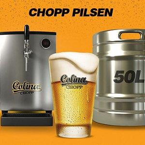 Chopp Colina Pilsen 50 Litros