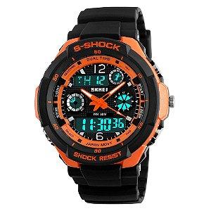 Relógio Skmei S-shock Laranja