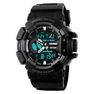Relógio Skmei 1117 Dual Time Preto
