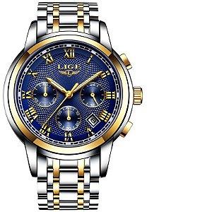 Relógio Lige Masculino Original Lg9849