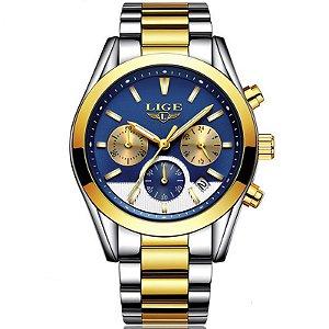 Relógio Lige Masculino Original Lg9872