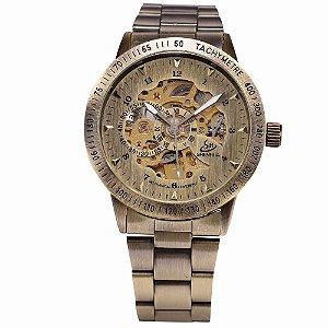 Relógio Esqueleto Shenhua Automático Sh9259br