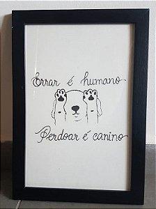 Quadrinho Canino