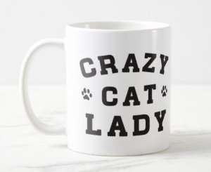 Caneca Crazy Cat Lady