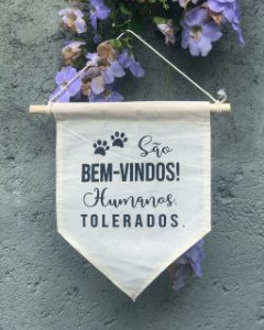 Flâmula Cães/Gatos Bem-vindos