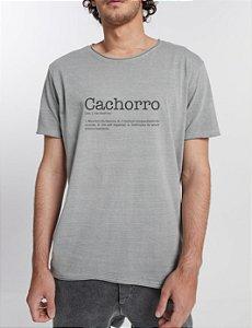 T-shirt Definição Cachorro - Gola Redonda