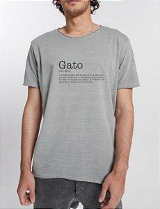 T-shirt Definição Gato